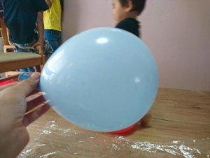 風船ベッド 作り方