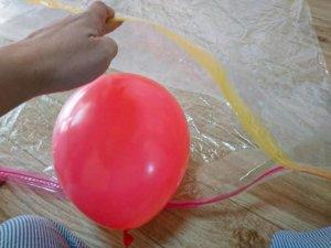 風船ベッドの作り方